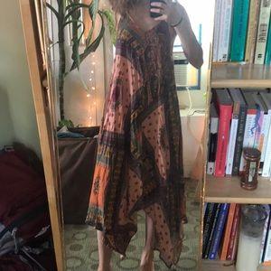 Zara boho midi patchwork dress ✌🏻